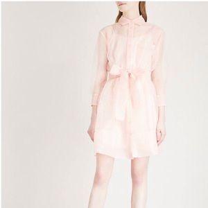 Brand New Maje Sheer Dress Pink